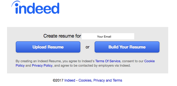 How To Post A Resume On Indeed Resumeviking Com 2020