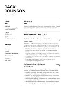 Resume - Professional Painter-12