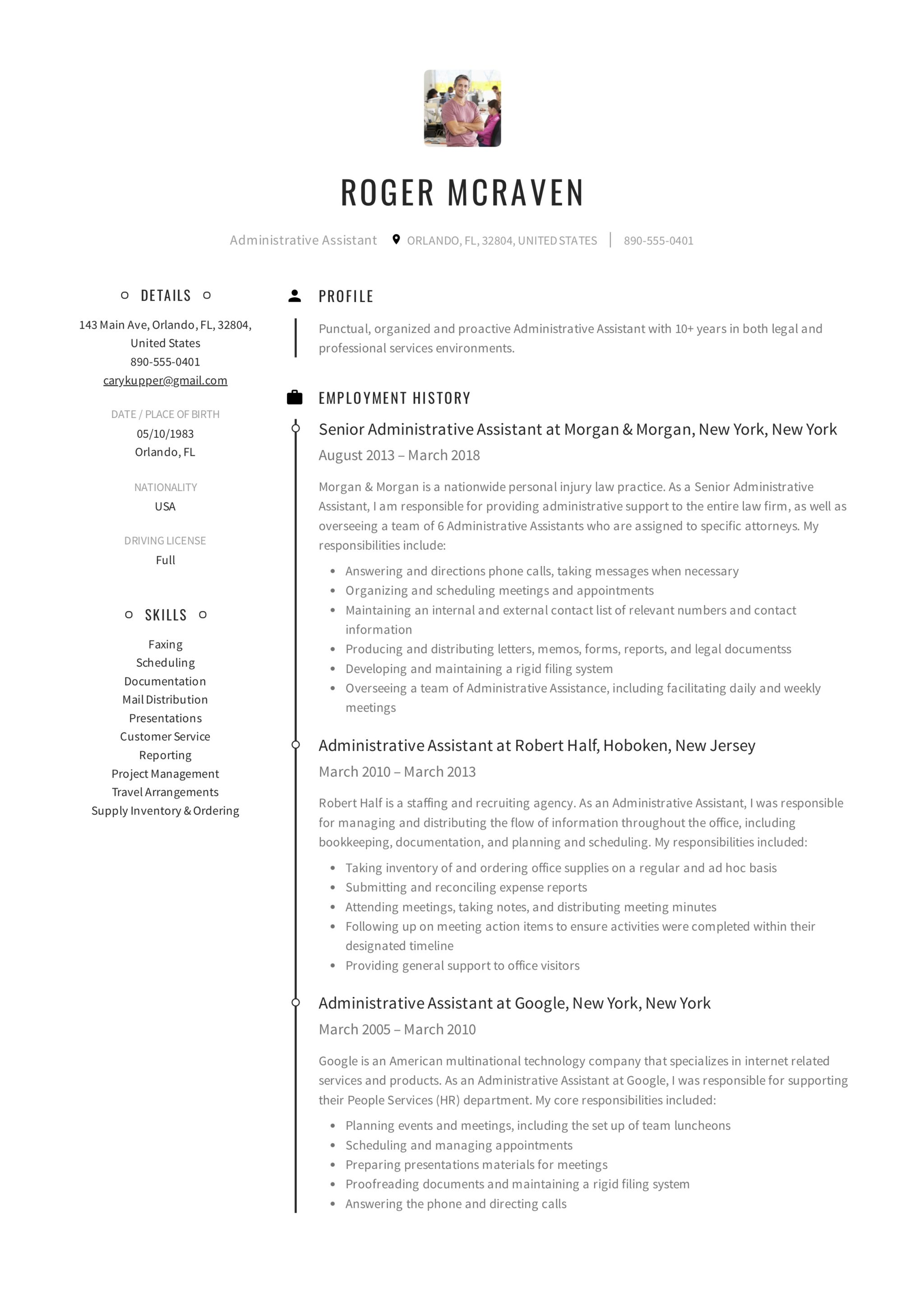 Resume Samples Resumeviking Com
