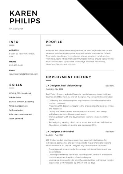 UX Designer Resume Sample - Karen Philips (11)