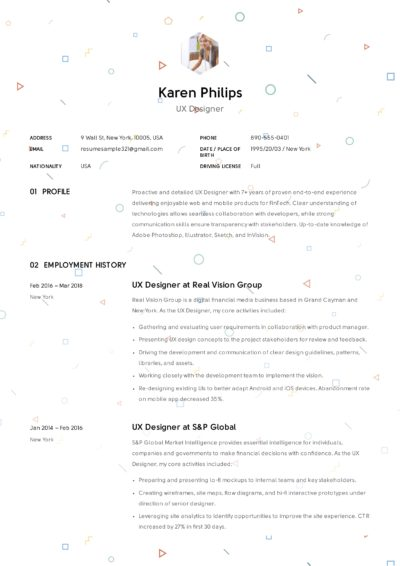 UX Designer Resume Sample - Karen Philips (7)