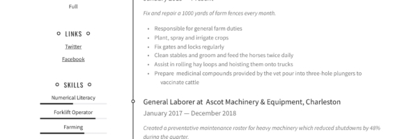 General Laborer Resume Writing Guide 12 Free Templates